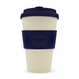 Ecoffee Cup Blue Nature - koffiebeker - 400 ml