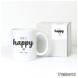Koffie/theetas Have a happy day