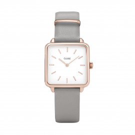 Cluse La Tétragone Rose Gold White/grey