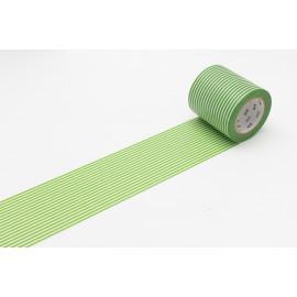 Masking tape - Casa 50 mm - border green
