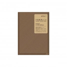 Set zakjes - black stripe - small