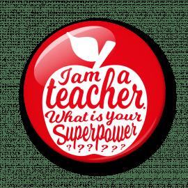 Magneet I am a teacher