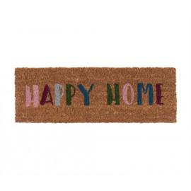 Deurmat Happy home