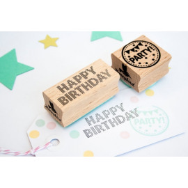 Stempel - Happy Birthday