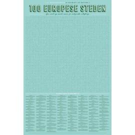 XL Spelposter 100 Europese steden