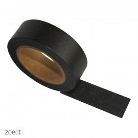 Washi tape Zwart