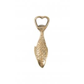 Flesopener vis goud Zusss