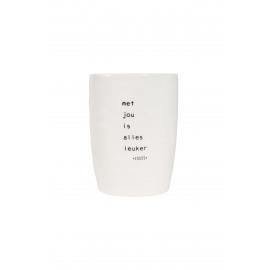 Koffiemok Met jou is alles leuker