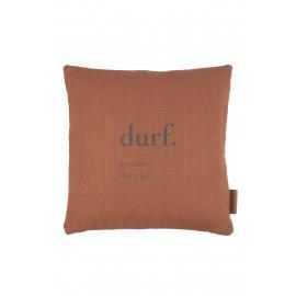 Kussen Durf/brique Zusss