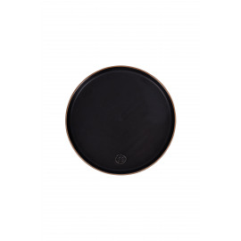 Ontbijtbord aardewerk zwart / Zusss