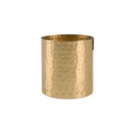 Metalen gouden potje - Zusss