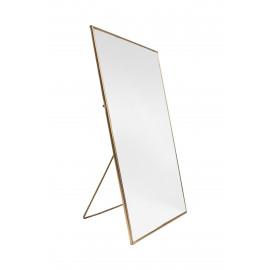 Gouden spiegel rechthoekig Zusss