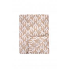 Tafelkleed Bloemprint muskaat 140x230cm / Zusss