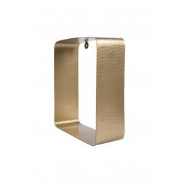 Wandrek Zusss metaal/langwerpig/goud