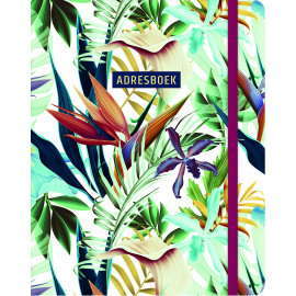 Adresboek Tropical / Paperstore