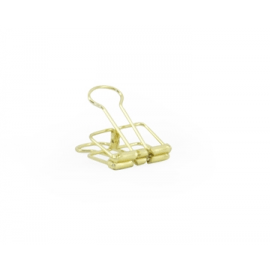 Binder clip gold - 19 mm