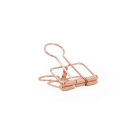 Binder clip rose gold - 32 mm