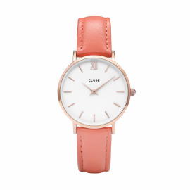 Minuit Rose Gold White/flamingo