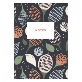 Dark flower notebook Timi