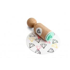 Ministempel - Diamant