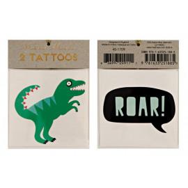 Tattoo dinosaur - roar!