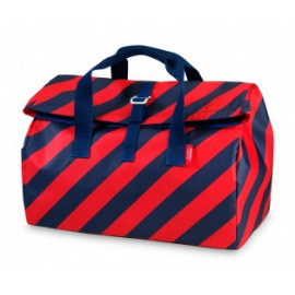 Weekendtas Engel / Flip Stripe Navy