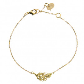 Armbandje Timi Feather goud