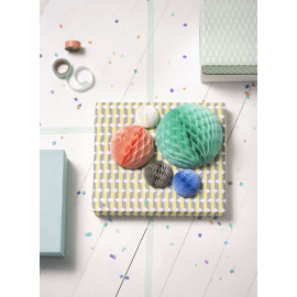Honeycomb set - pastel