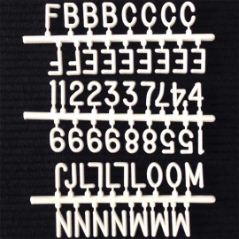 Letterset S voor letterboard