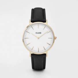 Horloge La Bohème Gold White/Black