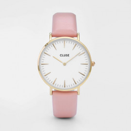 La bohème - Gold White/Pink