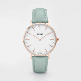 La bohème - Rose gold white/pastel mint
