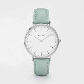 La bohème - Silver White/Pastel mint