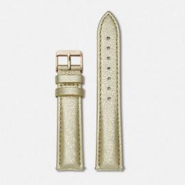 La bohème strap metallic gold