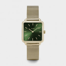 La Tétragone Mesh Gold / Forest Green