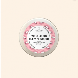 The Gift Label Lip balm / You look damn good