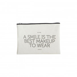 Make-up pouch - smile