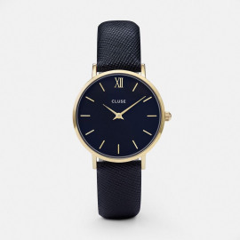 Horloge Minuit Gold / Midnight Blue
