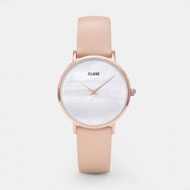 Cluse Minuit La perle rosegold parelmoer/nude