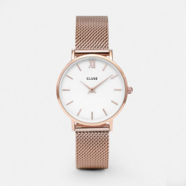 Minuit mesh - Rose gold