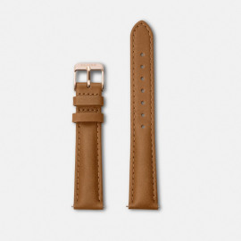 Horlogebandje Minuit caramel/rose gold