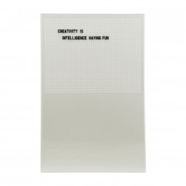 Noticeboard Grid van Monograph by House Doctor / grijs