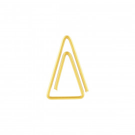 Paperclip triangle