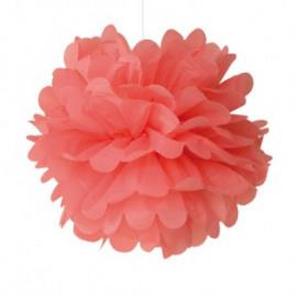 Pom pom oranje/rood - 30 cm