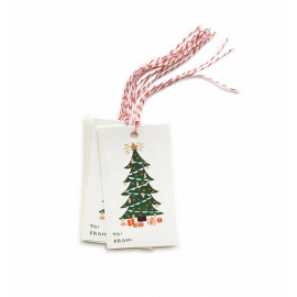 Gifttags kerstboom