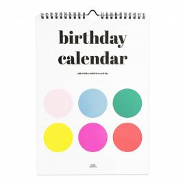 Verjaardagskalender dots