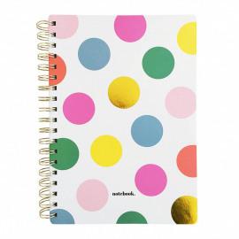 Notebook Happy dots