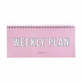 Planner Weekly plan