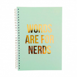 Notebook - words are for nerds