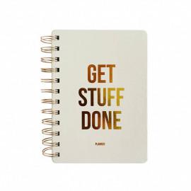 Planner Get stuff done - off white
